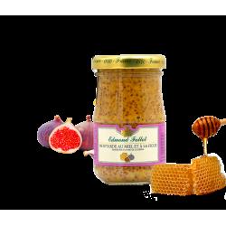 Moutarde au miel et à la figue